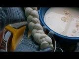 Сыр Pasta filata / Вытяжные . Как вытягивать сырное тесто.Косичка,скаморца.