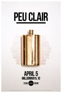 PEU CLAIR / APRIL 5 @ BUREAU