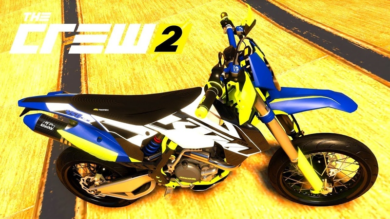 THE CREW 2 GOLD EDiTiON (TUNiNG) KTM 450 EXC PART 474 ...