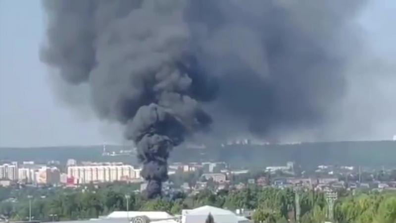 Анонс: Пожар в многоэтажном доме , над Ярмаркой столб черного дыма, два самых пьющих района Чувашии