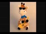 Влюблённый жираф поющая игрушка