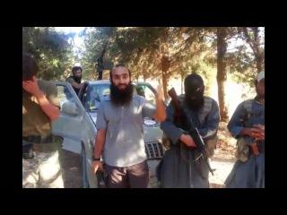 Азербайджанский муджахид в сирии со своими братьями чеченцами аварцами арабами
