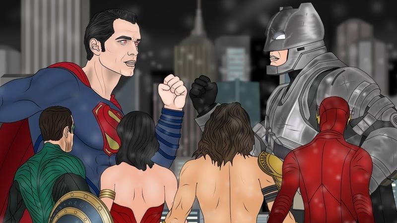 Бэтмен против Супермена - Лига Справедливости. Часть 5