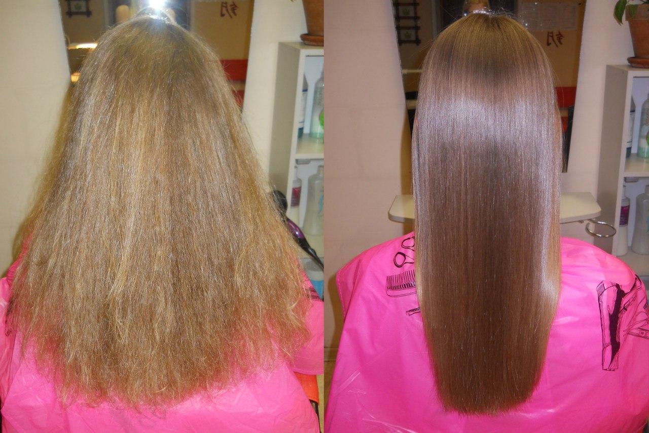 Инфракрасное-ультразвуковое восстановление волос отзывы