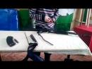 Как я делаю неполную разборку и сборку автомата калашникова
