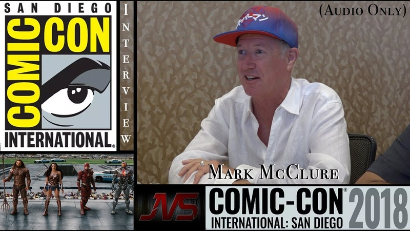 (SHORT) INTERVIEW with MARC MCCLURE about (Altered) Cameo in Justice League at SDCC2018 (07.19.18)