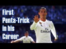 Cristiano Ronaldo - First Penta-Trick in his Career! Real Madrid 9:1 Granada C.F 05/04/2015