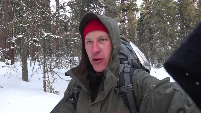 [abvgat] 12. ШОК! ЗАСРАННАЯ ИЗБА В ТАЙГЕ. Поход. Сибирь. Камусные лыжи, буран, АБВГАТ.
