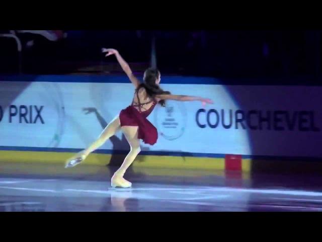 Evgenia Medvedeva - GALA Grand-Prix Courchevel 2014 (Jr)