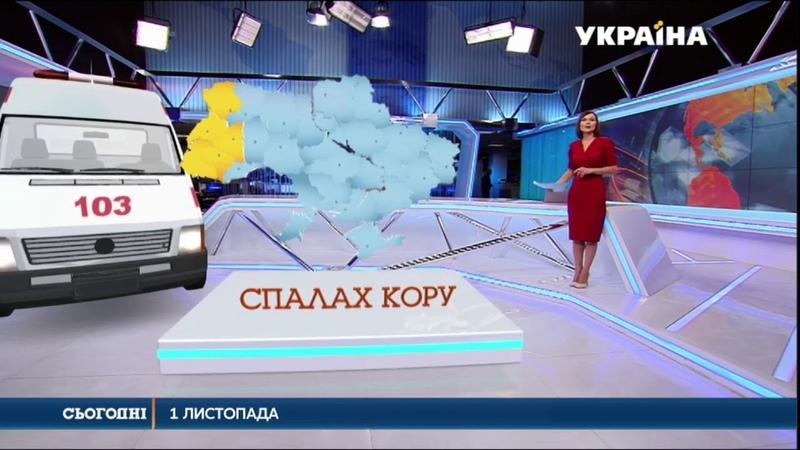 Від початку року понад 35 тисяч українців захворіли на кір