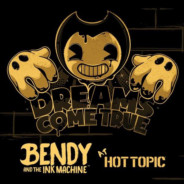 Как рисовать bendy and the ink machine