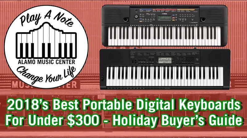 2018s Best Portable Digital Keyboards For Under $300 - Holiday Buyers Guide and Comparison