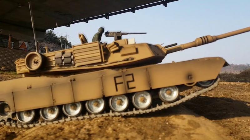 NEW heng long M1A2 Abrams 1 16 rc tank tk 6 0 board second run