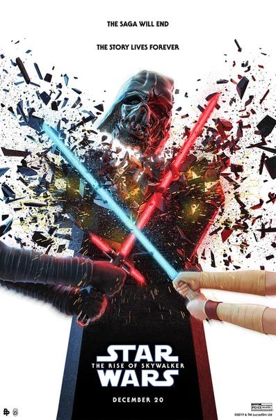 Постеры финального эпизода «Звездных войн»