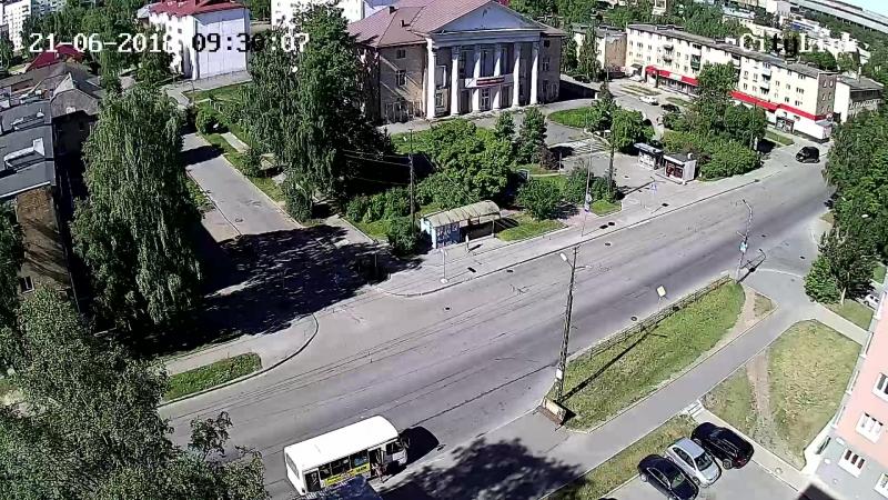 Зайцева ул. - Григорьева ул. с Мой Дом [21-06-2018] 09.30-09.31