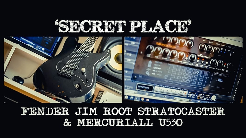 Secret Place - Fender Jim Root Stratocaster, Mercuriall U530 - Nu Metal