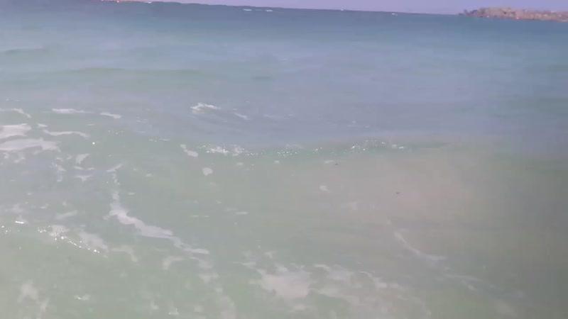 Пляж Аль Мамзар волна 2