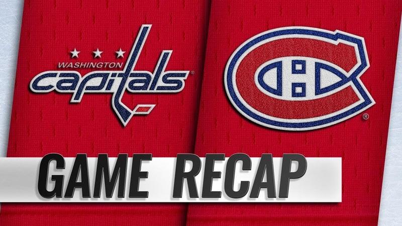 Eller scores OT winner in wild 5-4 Capitals win