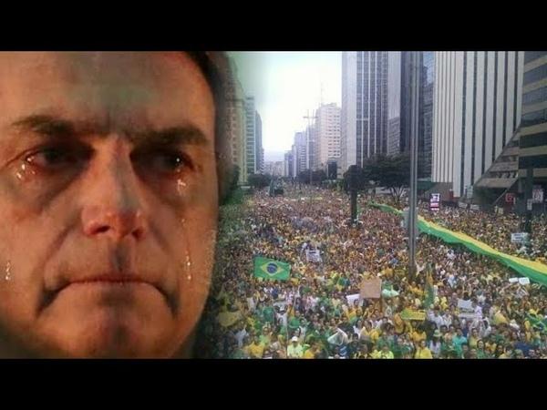 MOMENTO HISTÓRICO: MAIOR manifestação pró-Bolsonaro INTERDITA COMPLETAMENTE Avenida Paulista