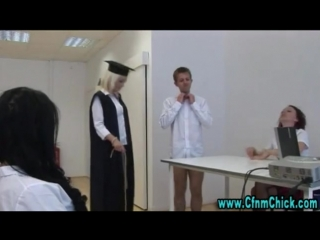 Naughty cfnm teacher and her students-2309383