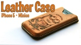Cómo hacer una funda de cuero para iPhone || How to make an iPhone leather case