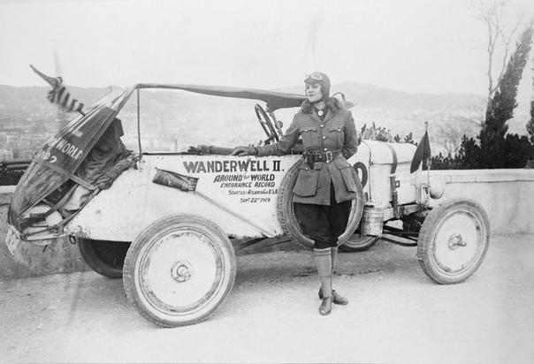 Индиана Джонс в юбке: первая женщина, объехавшая 80 стран в 1920-х годах. часть 2.