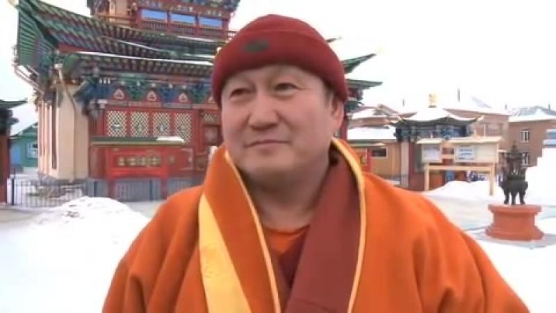 Его Святейшество Пандито Хамбо лама России Дамба Бадмаевич Аюшеев о достопочтенном Оле Нидале
