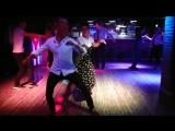 Salsa Party Kirill Lukin and Oleskiv Tatiana SalsaBar Izhevsk