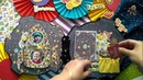 Обзор скрап альбома сделанного в рамках нашего СП от Наташи Бобрик Луна время открытий