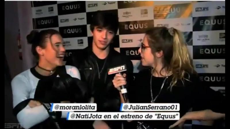 Nati Jota entrevista a Oriana Sabatini y Julian Serrano