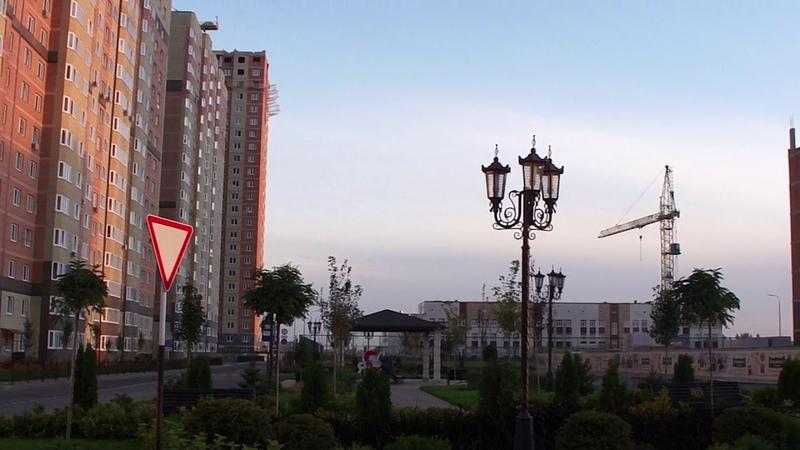 ЖК Губернский литер 20 Утро в ЖК Губернский 19.09.2018