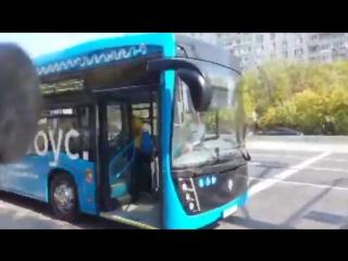 Электробус все никак не хочет ехать уже второй день