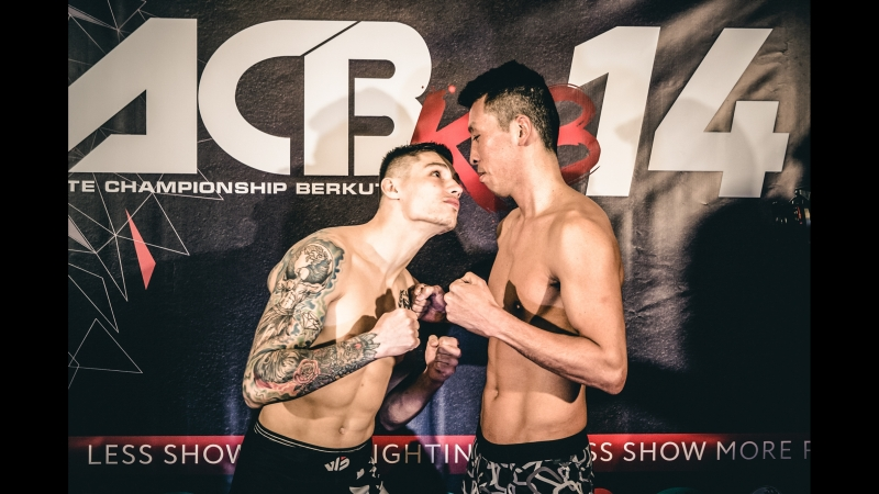 ACB KB-14 Diamonds - Official Weigh in