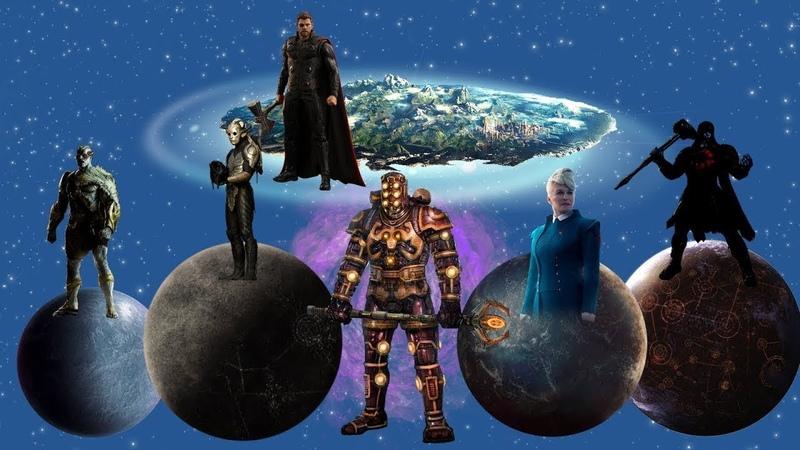 ТОП-10 Могущественных империй и королевств Киновселенной Марвел. Что скрывает Marvel?