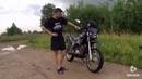 Обзор и тест драйв КРОССОВОГО мотоцикла Хонда 50сс АБМ Раптор от Психа