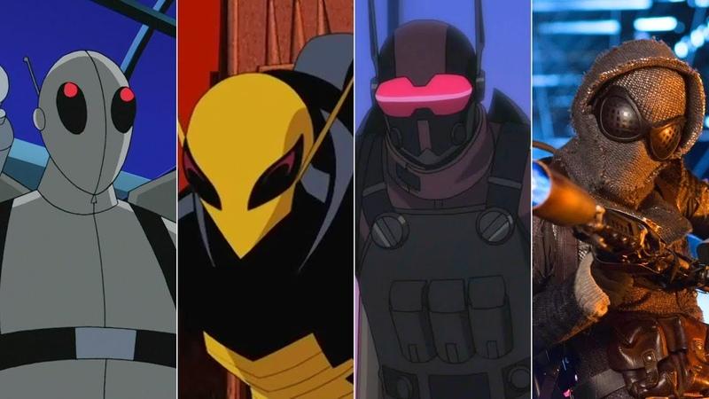 Эволюция Светлячка в мультфильмах и кино