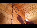 Тест ножа для снятия изоляции NEO кабельNYM 2x2.5
