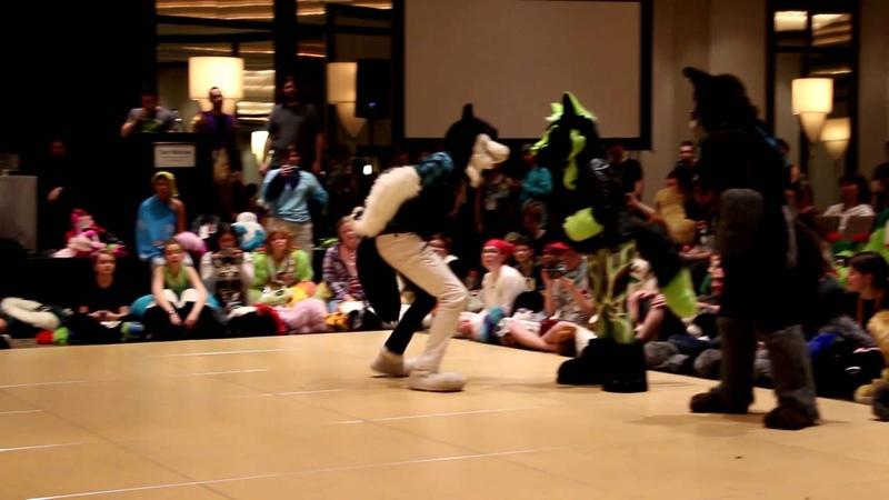 AC2016 Floor Wars Fursuit Finals