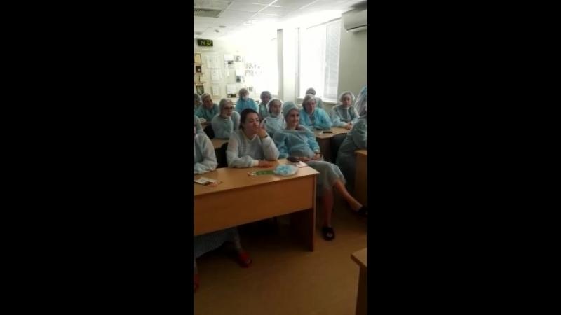 Отрывок из экскурсии в родильное отделение 1-го роддома г.Казани (3)