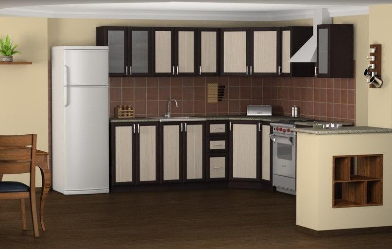 Дизайн кухни бюджетный вариант фото
