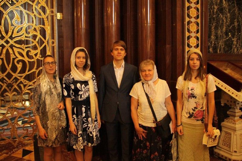 Выпускники приходской школы Савеловского побывали на торжественном мероприятии в храме Христа Спасителя
