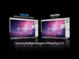 speed comparison : 2010 i7 MacBook Pro 5400 vs 7200 rpm hdd