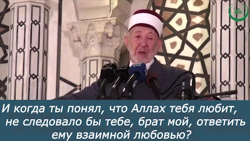 Шейх Рамадан Аль-Бути - Всевышний любит нас.