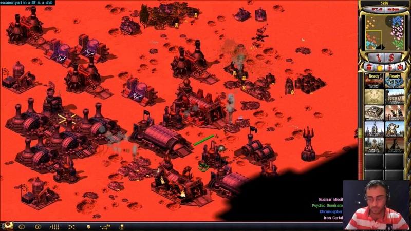 EPIC 3 VS 3 ONLINE MULTIPLAYER MATCHES IN WASTELAND MAP Command Conquer Red Alert 2 Yuri's Revenge