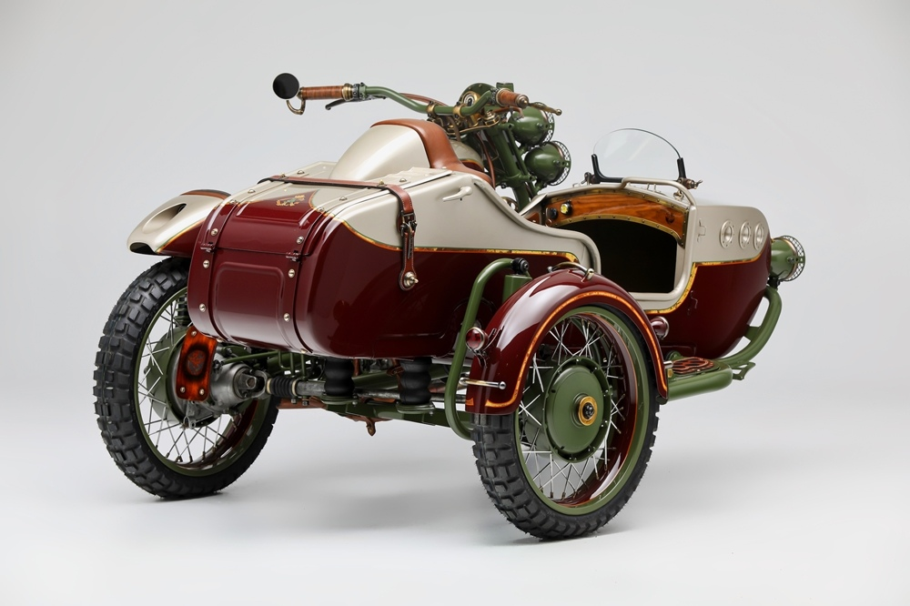 Le Mani Moto: кастом Ural 2WD From Russia With Love