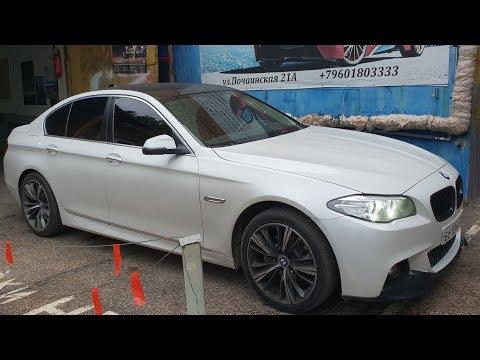 BMW 550i xDrive (F10) - Установка Logic7(инструкшн)