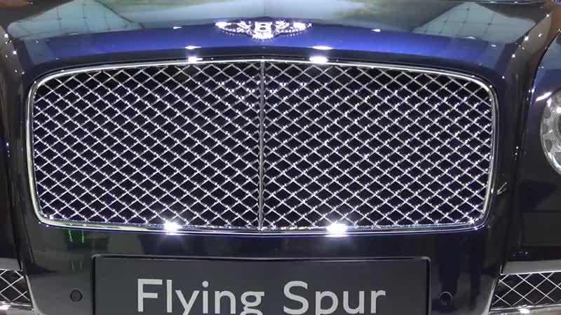 Bentley Flying Spur W12 Mulliner 2018.mp4