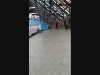Ramses's a new skate trick - switch fs heelflip heel drag 19.11.2018
