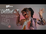 7 Nude Art Ebony Action Body Painting 'Untitled No.7' • GD Films • BMPCC 4K Deep House