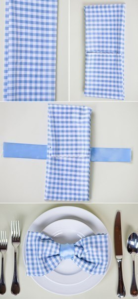 Как сложить салфетку 10 способов для праздничного стола